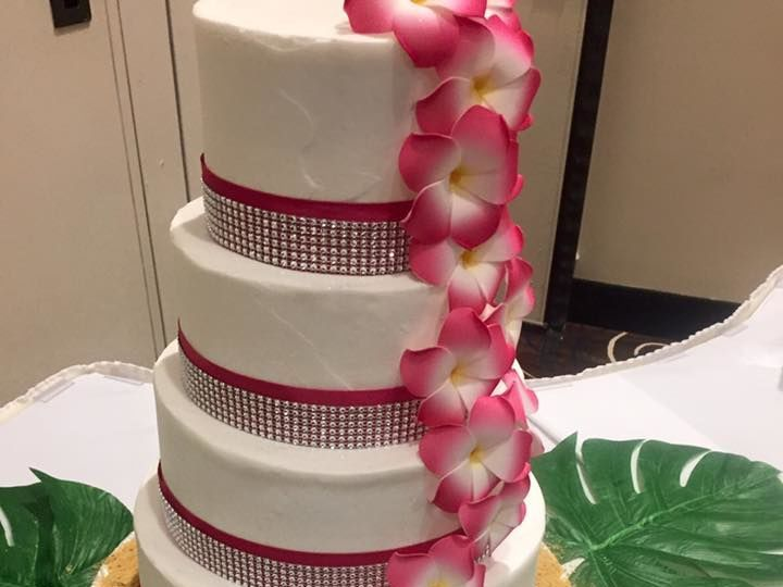 Tmx 1524701896 86eff0465d43c66b 1524701894 715a0cbe1969addd 1524701892491 6 Hawaiian Cake Lincoln City wedding cake