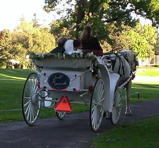 Victoria carriage, Silverado Event Center, Napa, CA