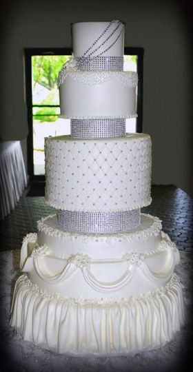 800x800 1429033892515 6 tier wedding cake bling 6 tier wedding cake