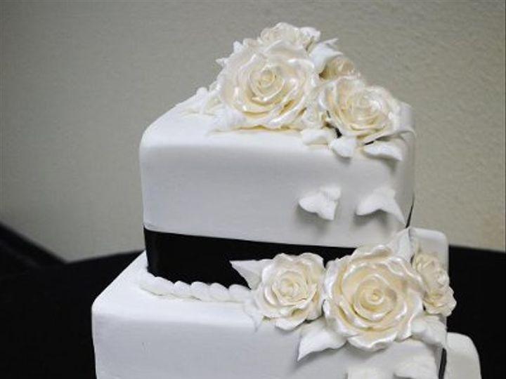 Tmx 1282243131767 JacksonWedding Springtown, TX wedding cake