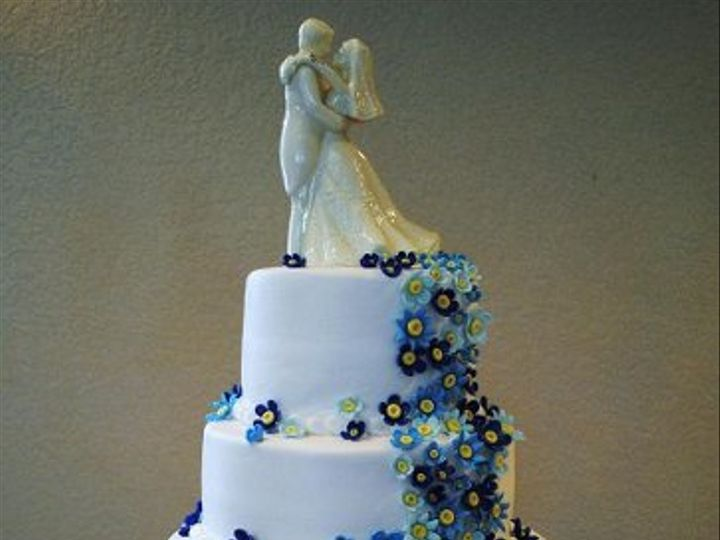 Tmx 1282243172439 BlueDaisyCake Springtown, TX wedding cake