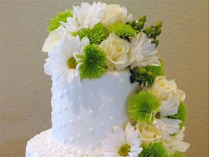 Tmx 1324576116281 LyndseyHullgreenwhitecake Springtown, TX wedding cake