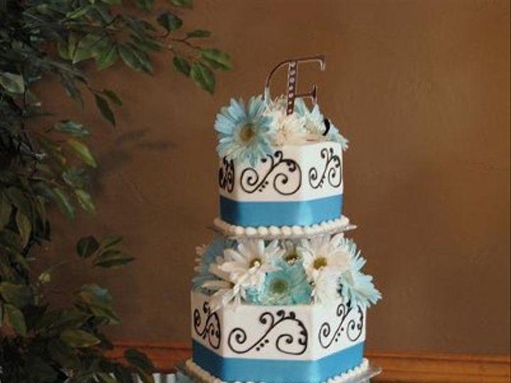 Tmx 1324576129635 BlueQuinceanearaCake Springtown, TX wedding cake