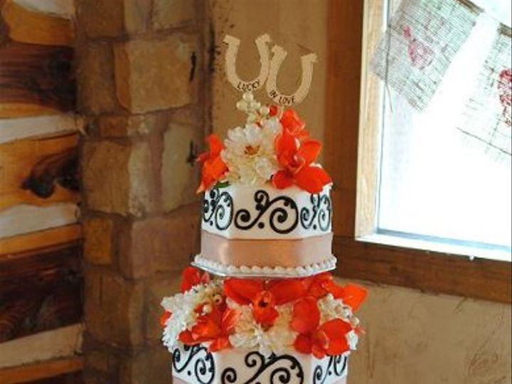 Tmx 1324576250784 WillowLakeLogWeddingcake Springtown, TX wedding cake