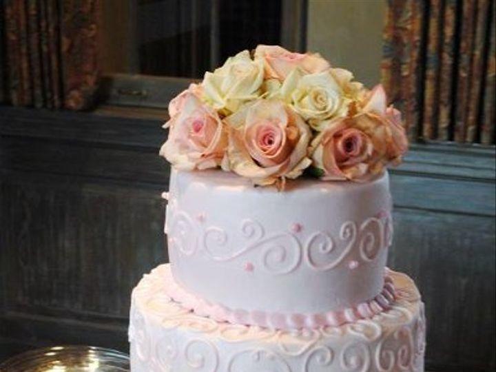Tmx 1324576361123 PinkWeddingCake Springtown, TX wedding cake