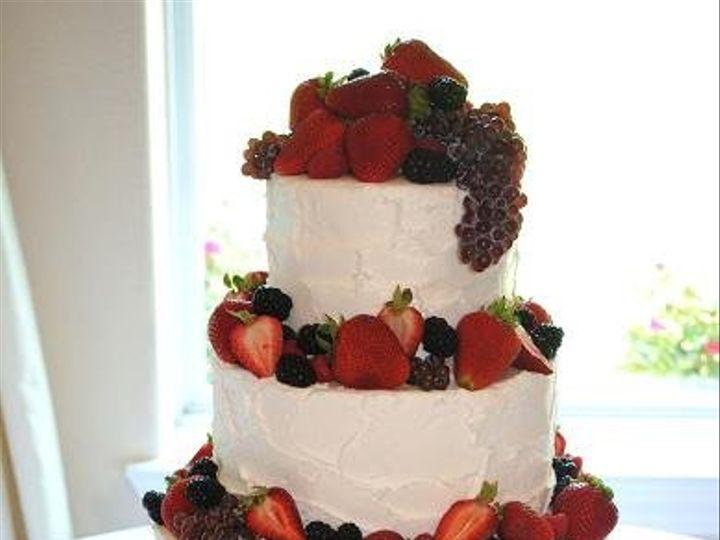 Tmx 1343922460280 OrchardFruitWeddingCake Springtown, TX wedding cake