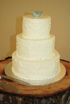 Tmx 1343922462013 Rusticbluebirdwedding Springtown, TX wedding cake