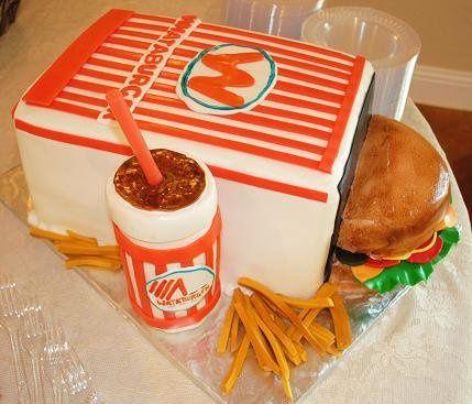 Tmx 1343922467564 WhataburgerGroomscake Springtown, TX wedding cake