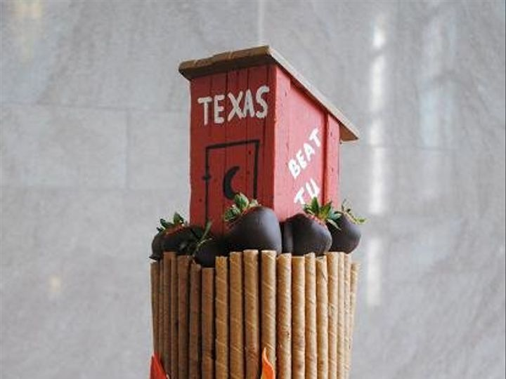 Tmx 1343922789862 AMBonfireCake Springtown, TX wedding cake