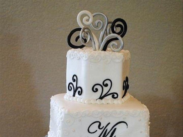 Tmx 1343922791760 AMcurlycirclecake Springtown, TX wedding cake