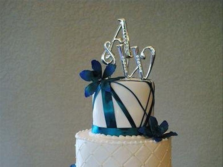 Tmx 1343922793572 AWblueorchidquilt Springtown, TX wedding cake