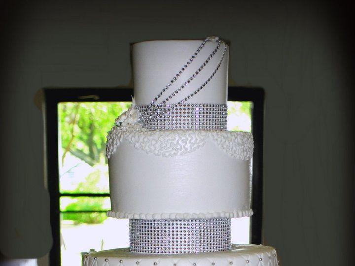 Tmx 1429033892515 6 Tier Wedding Cake Bling 6 Tier Wedding Cake Springtown, TX wedding cake