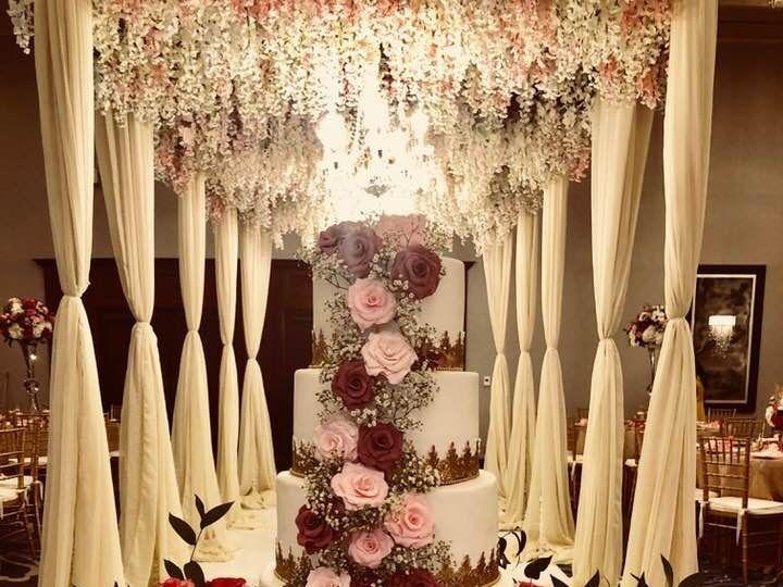 Tmx 1531423101 A4a622afbfa468c0 1531423100 4214f87a8005d890 1531423097663 1  HiltonSeleemiwedd Springtown, TX wedding cake