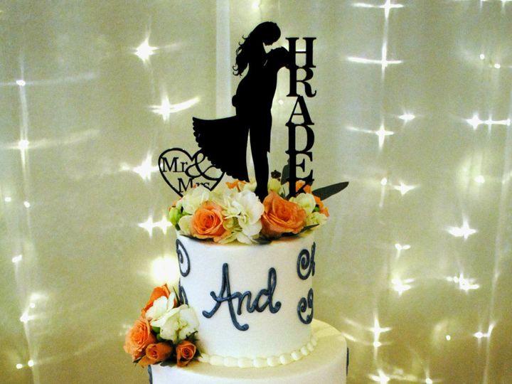 Tmx 1531423196 29dc2367978bac61 1531423194 3fee44167d8d0719 1531423183360 7  Happilyeverafterc Springtown, TX wedding cake