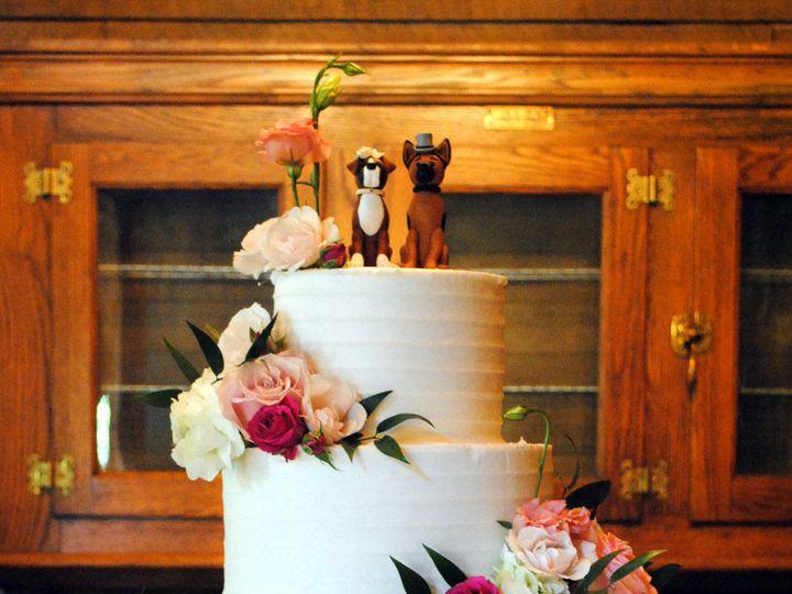 Tmx 1531423196 4ab88577d0dd8137 1531423194 5c240a6c58d5179b 1531423183334 5  Doggieweddingcake Springtown, TX wedding cake