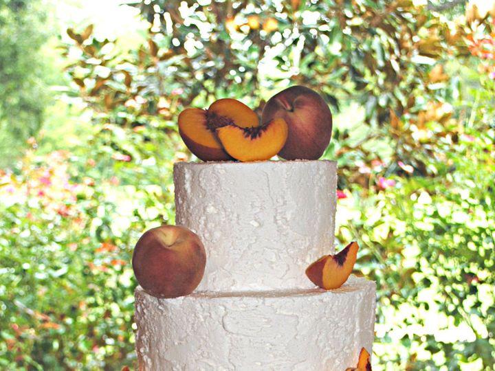 Tmx 1531423402 C17a484ff5c83a9e 1531423399 B64816bd3e95ec47 1531423384903 30  Peachweddingcake Springtown, TX wedding cake