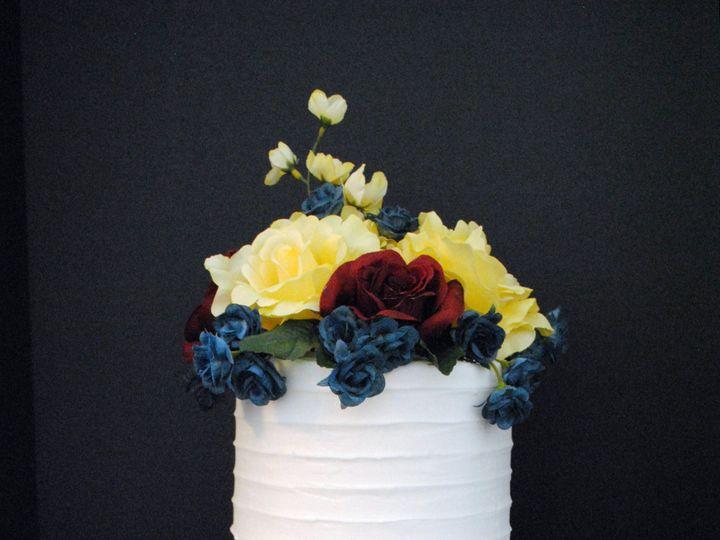 Tmx Blueburgandyyellowweddingcake 51 368031 157444425890724 Springtown, TX wedding cake
