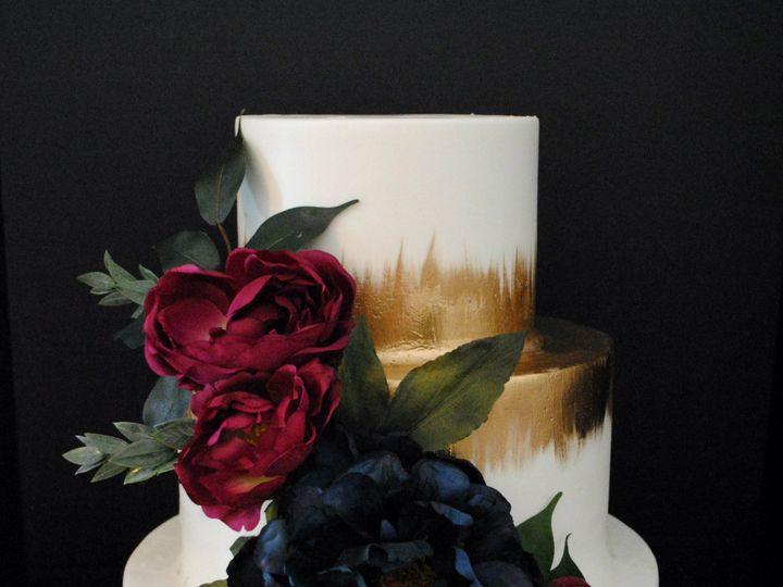 Tmx Burgandyandblueweddingcakewithgold 51 368031 157444426273927 Springtown, TX wedding cake