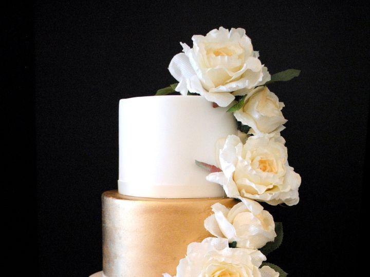 Tmx Rosegoldandgoldweddingcake 51 368031 157444431447727 Springtown, TX wedding cake