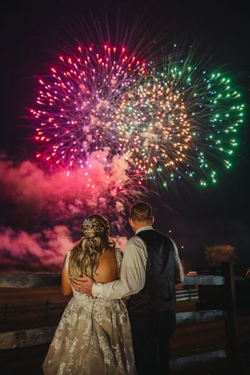 Fireworks for two.