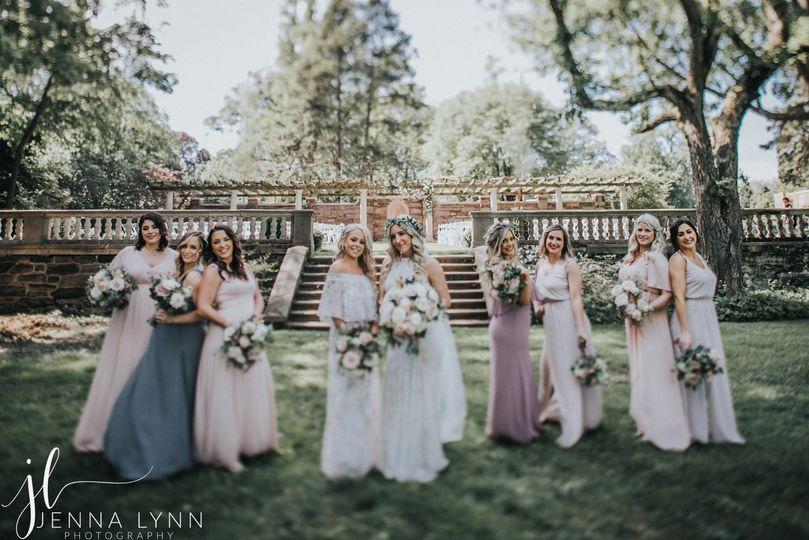 new jersey wedding photographer jenna lynn photography new jersey wedding curtis hall arboretum kristenbrad bridalparty 36 51 1031131 157651992933139