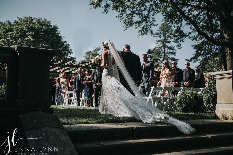 new jersey wedding photographer jenna lynn photography new jersey wedding curtis hall arboretum kristenbrad ceremony 34 51 1031131 157651994585067