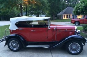 1929 Ford Phaeton Wedding Car