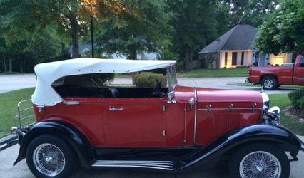 1929 Ford Phaeton Wedding Car