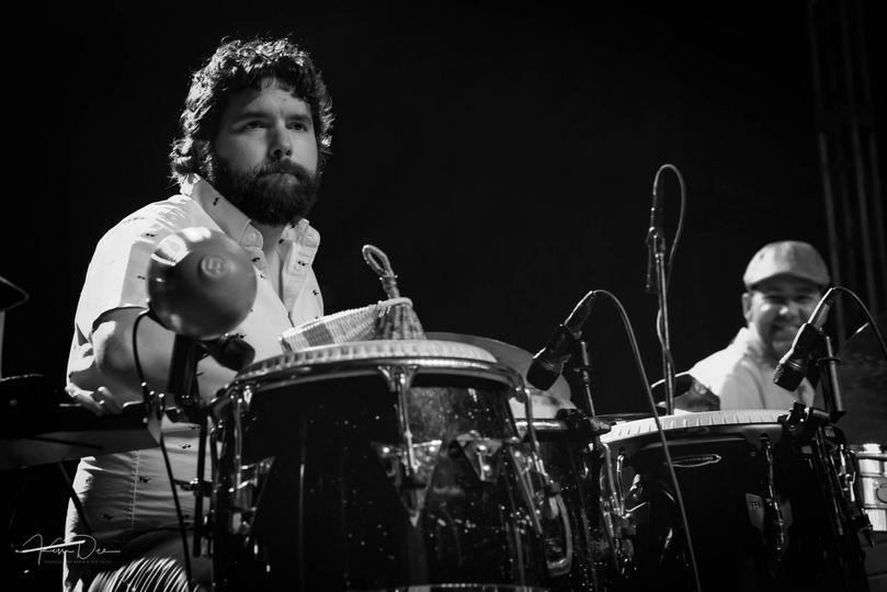 Latin percussion style