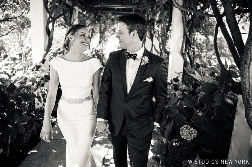 Bride and groom Sept. 2017, W Studios New York