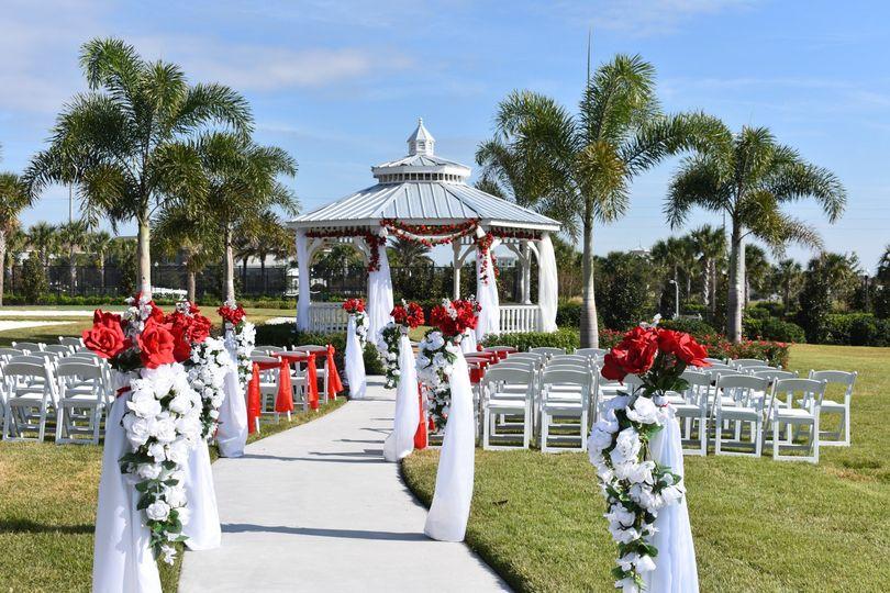 Gazebo Garden Ceremony