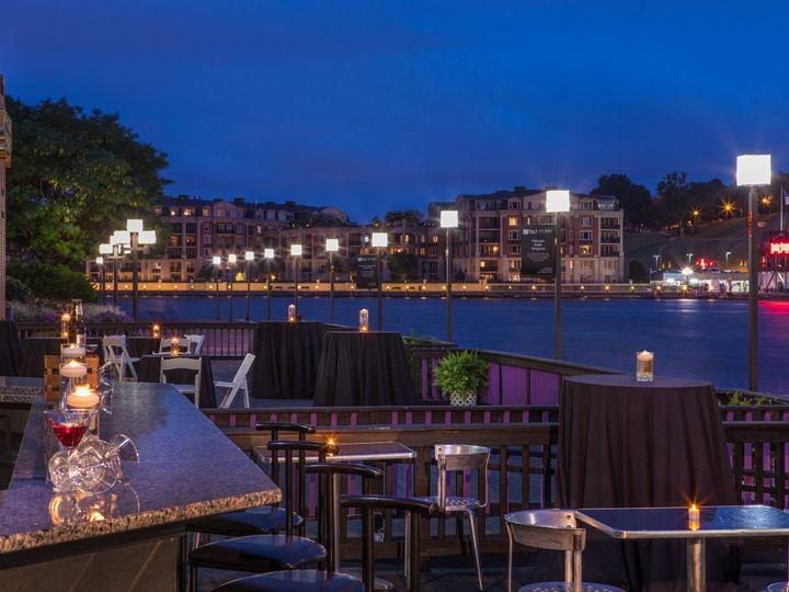 Tmx 1514401591161 Terrace At Dusk H Baltimore, MD wedding venue