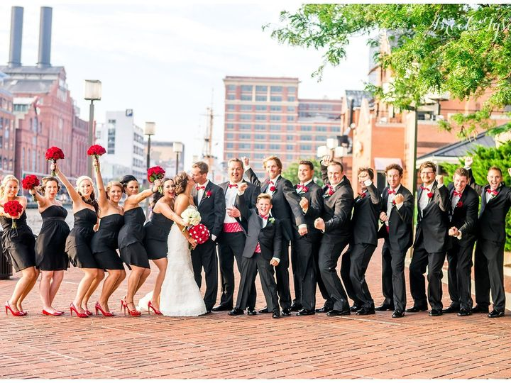 Tmx Red And Black Wedding1 51 982131 Baltimore, MD wedding venue