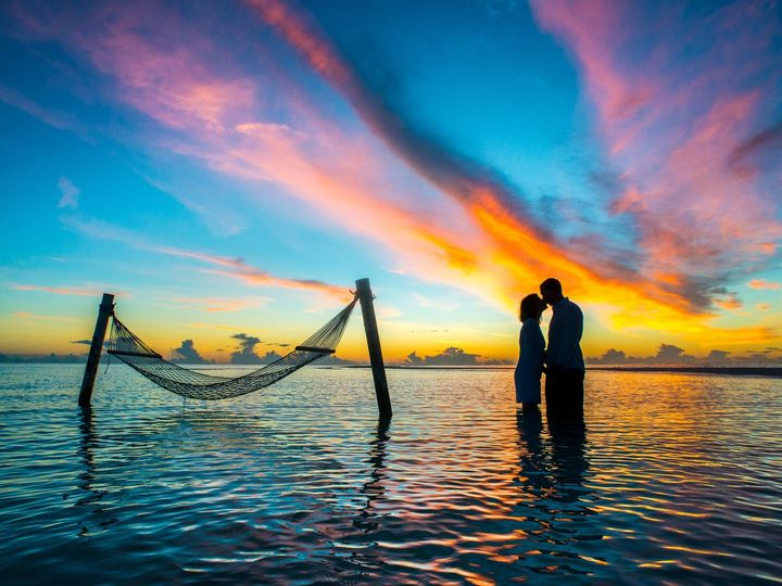 Tmx Canva Silhouette Photo Couple Kissing Each Other During Sunset 51 1892131 1571446436 Lafayette, LA wedding travel