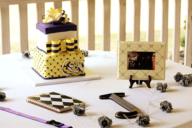 Groom's Cake Table