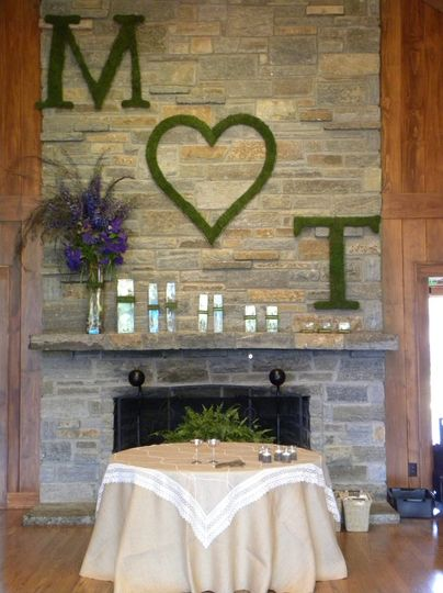 Wall lettering decor