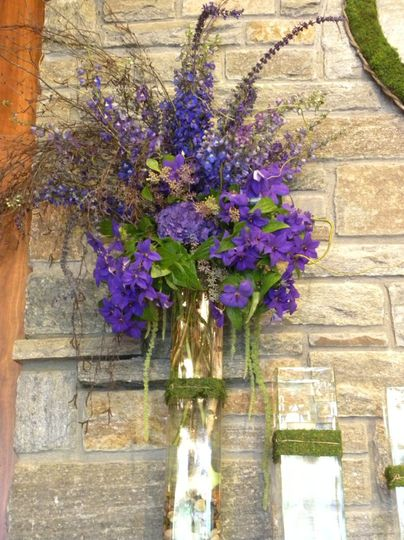 Lavender wall decor
