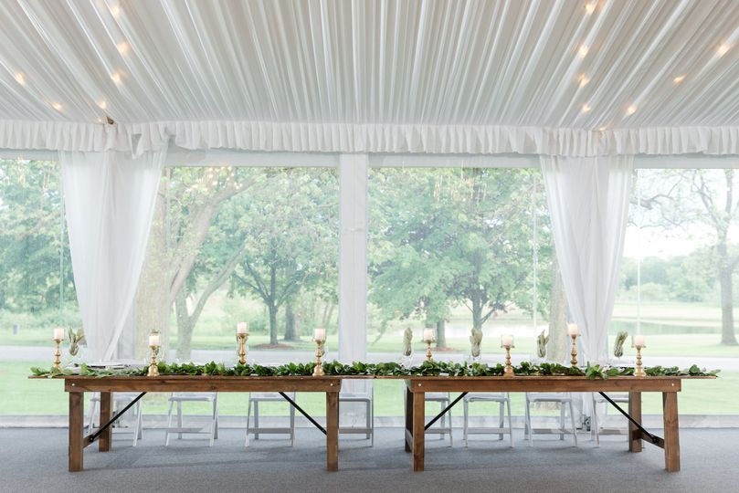 Woodside Pavilion - Head Table