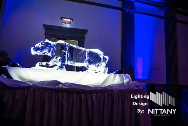 Nittany Lion Ice sculpture