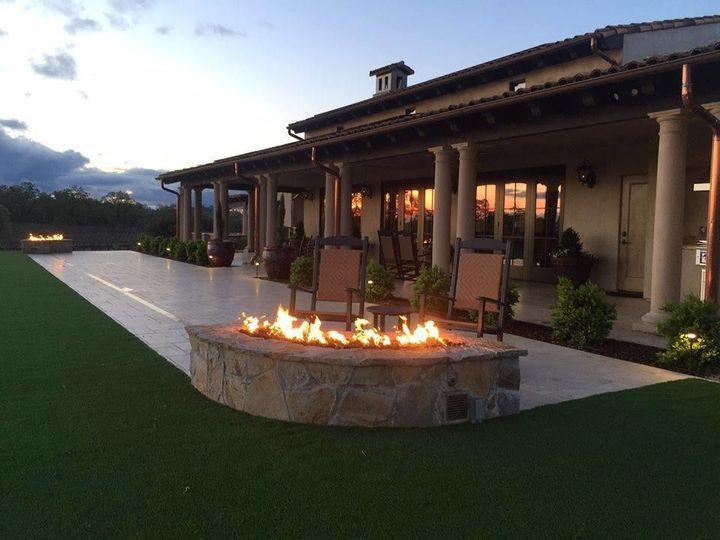 Terrace/Fireside Views