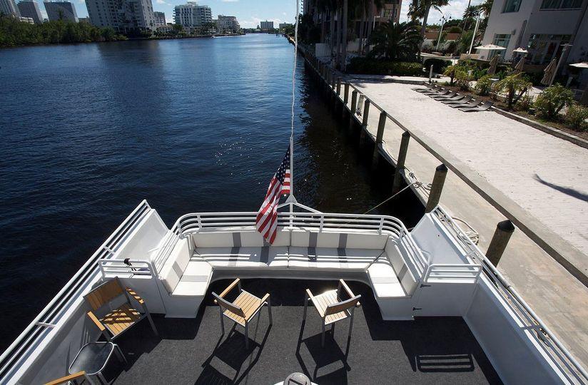 sun dream back deck