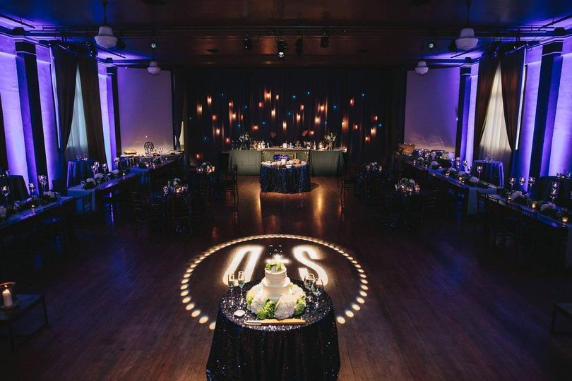 We loved the Groom's focus and attention to details on this wedding reception, even designing their...