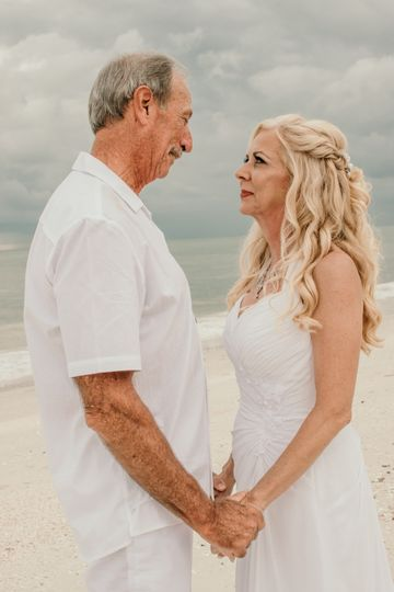 Florida Beach Intimate Wedding