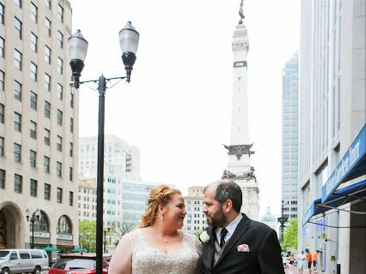 Tmx 1468277930572 Lori And Bart Indianapolis Real Wedding Plus Size  Indianapolis wedding dress
