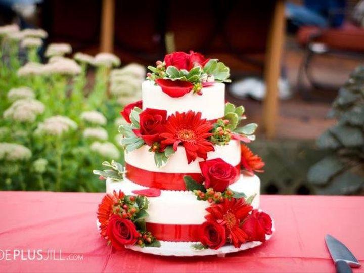 Tmx 1362857918853 Weddingcake Eatonville wedding cake