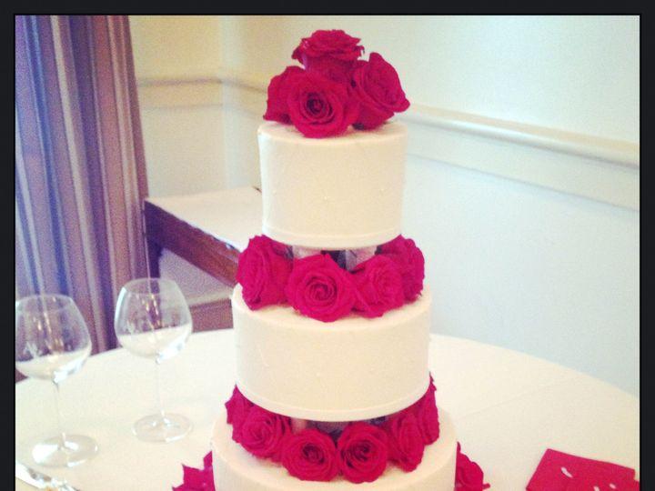 Tmx 1401218533612 Flower Tiers Wedding Cak Louisville, KY wedding cake