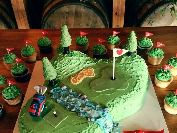Tmx 1511628055332 Golf Grooms Cake Louisville, KY wedding cake