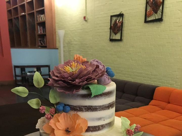 Tmx Naked Flowers Cake 51 409131 Louisville, KY wedding cake