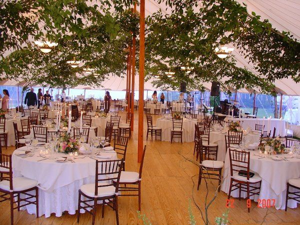Tent wedding at the Asticou Inn