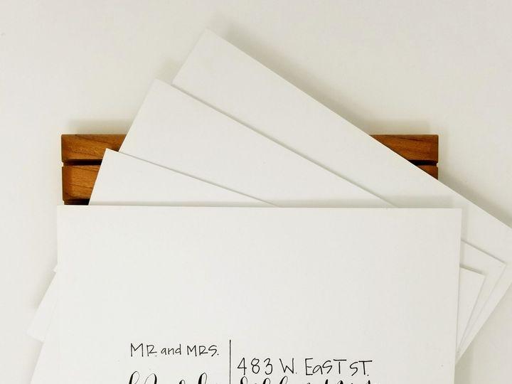 Tmx 1519445114 39565f08234056ce 1519445112 2e9439f91d149ae4 1519445110238 2 WhiteEnvelope Blac Seattle, Washington wedding invitation